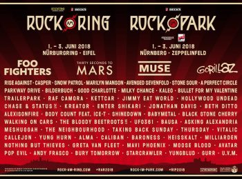 Pressematerial: Rock am Ring / Rock im Park