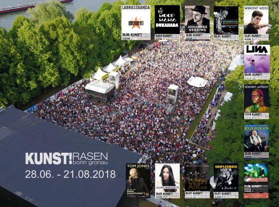 Pressematerial: Kunst!Rasen GmbH