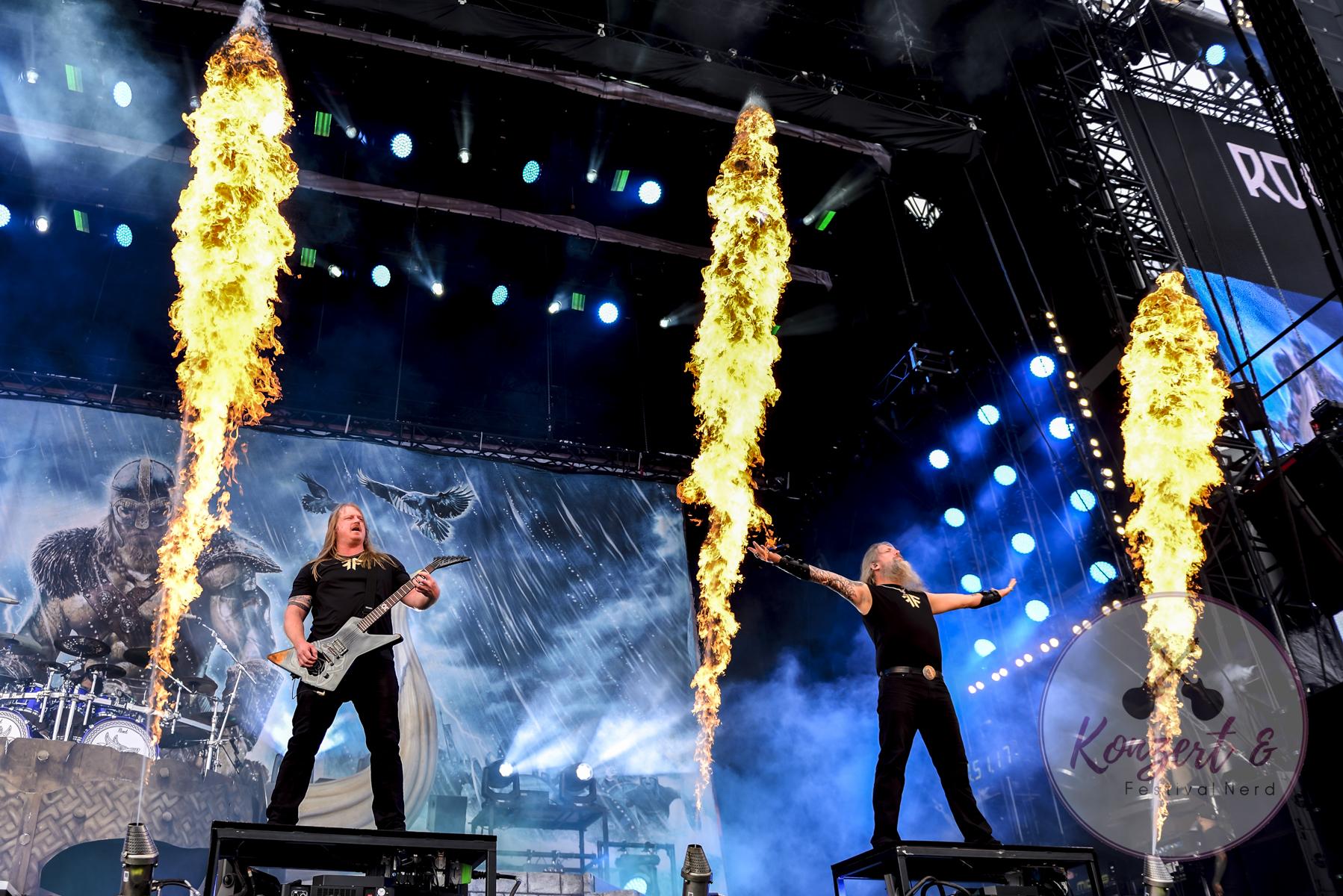Amon Amarth am 3. Tag von Rock am Ring 2019 | 09.06.2019