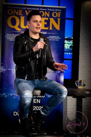 Marc Martel / One Vison Of Queen - PK Köln_Copyright by Stefan Claus_ Essen Germany